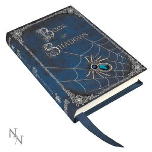 Journal~ Luna Lakota Blank Journal Diary Blue Spider Book of Shadows~ By Folio Gothic Hippy B0325B4